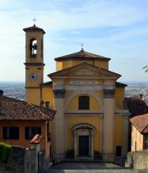 Saint Grata Inter Vites Church, Bergamo