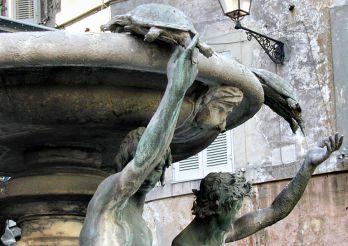 Фонтан черепах, Рим