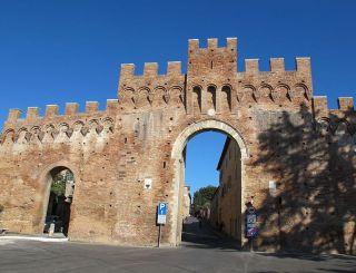 Tufi Gate, Siena