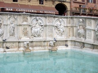 Fountain of Joy (Fonte Gaia), Siena
