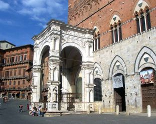 Cappella di Piazza, Siena