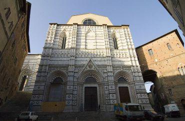 Baptistery of San Giovanni, Siena