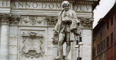 Monument to Pietro Metastasio, Rome