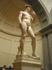 Statue of David by Michelangelo (original), Florence
