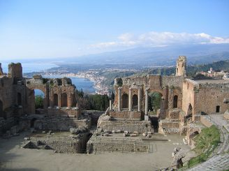 Ancient theater of Taormina, Taormina