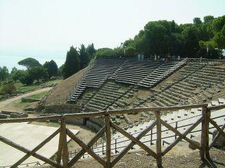 Theater in Tindari, Tindari