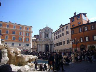 Церковь Святого Винченцо и Анастасио возле Треви, Рим