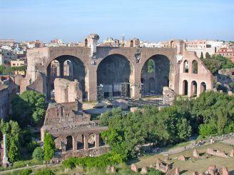Базилика Максенция и Константина, Рим