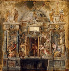 The temple of Janus imagined by Rubens