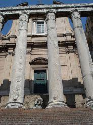 Храм Антонина и Фаустины, Рим
