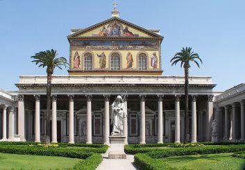 Базилика Сан-Паоло-фуори-ле-Мура, Рим