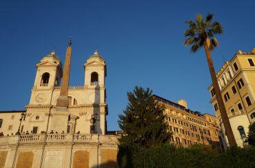 Церковь Тринита-деи-Монти, Рим