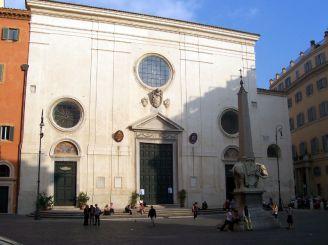 Базилика Санта-Мария-сопра-Минерва, Рим