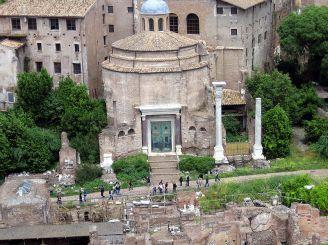 Базилика Косьмы и Дамиана, Рим
