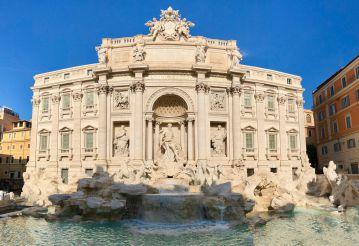 Аква Вирго, Рим