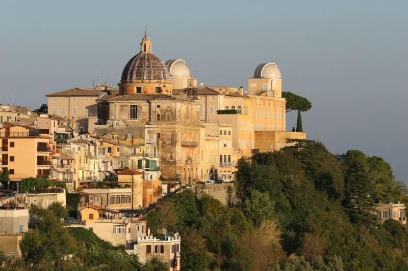 Papal palace castel gandolfo photos description - Castel gandolfo map ...