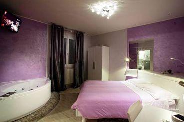 Двухместный номер с 1 кроватью и джакузи