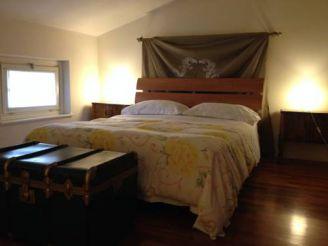 Стандартный двухместный номер с 1 кроватью, балконом и собственной внешней ванной комнатой
