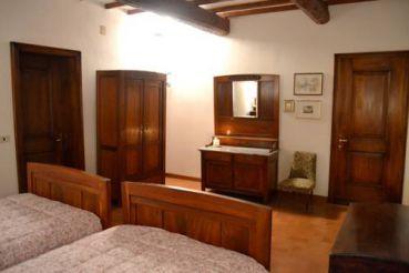 Двухместный номер с 2 отдельными кроватями и видом на сад