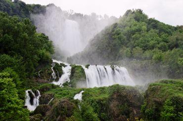 Водопад Марморе, Терни